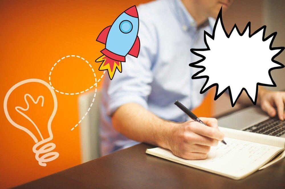 文章が苦手でもブログ、メルマガでクライアントを獲得する手順