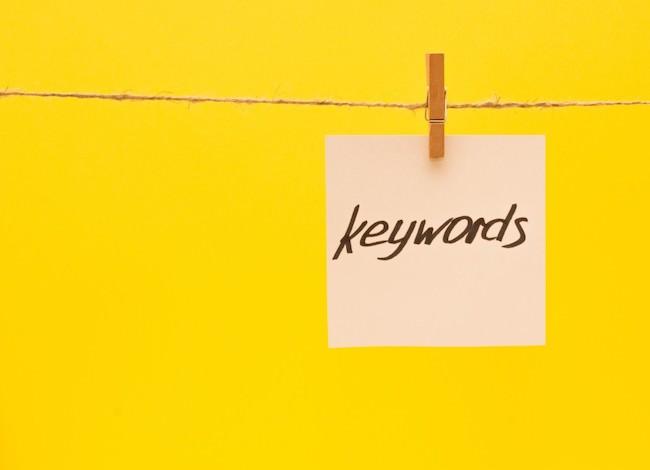 売れるブログを作るためのキーワードとは?