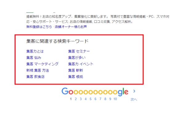 『ブログに関連する検索キーワード』の中からネタに出来そうなキーワードを探す。